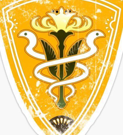 Gridania flag grunge Sticker