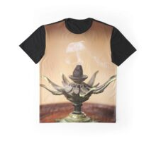 Vintage lotus flower used for aromatic smoke Graphic T-Shirt