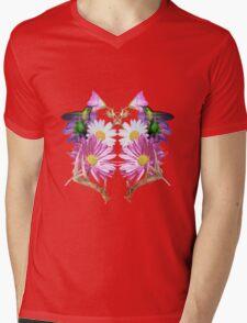 Rorschach Garden Mens V-Neck T-Shirt