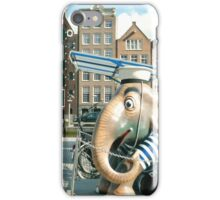 An Elephant in Amsterdam iPhone Case/Skin