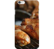 Grilled spiced drumsticks iPhone Case/Skin