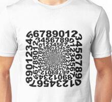 Numbers Frame Vortex Unisex T-Shirt