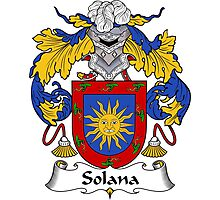 Silano Coat of Arms/Family Crest Photographic Print