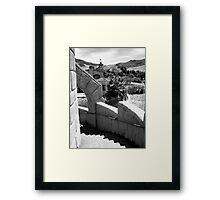 Scotty's Castle, Death Valley Nat'l Park Framed Print