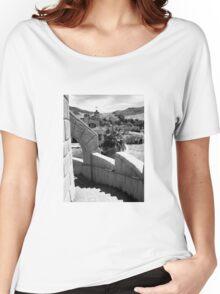 Scotty's Castle, Death Valley Nat'l Park Women's Relaxed Fit T-Shirt