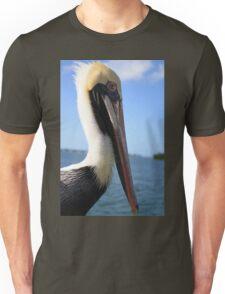 A Pelican Closeup Unisex T-Shirt