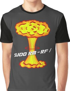 Sudo rm -rf / Graphic T-Shirt