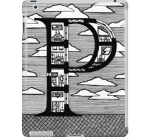 Letter P Architecture Section Alphabet iPad Case/Skin