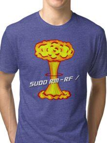 Sudo rm -rf / Tri-blend T-Shirt