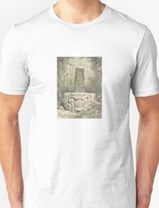 Idol and Altar at Copan – Ancient Monuments in Central America (Catherwood, Frederick) Unisex T-Shirt