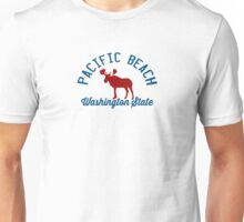 Pacific  Beach - Washington. Unisex T-Shirt