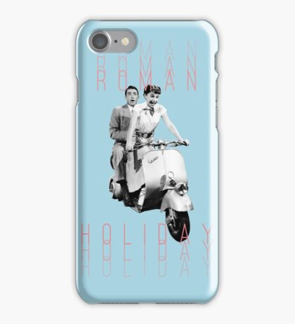 Roman Holiday v.1  iPhone Case/Skin