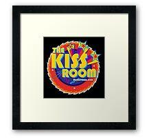 THE KISS ROOM! Framed Print