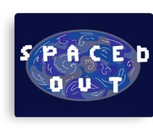 Pixel Spaced out Design  Canvas Print