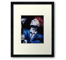 Hesitant Alien Gerard Way Framed Print