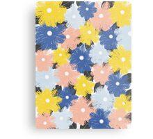 Yellena Spring Floral Pattern Metal Print