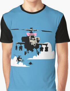 Banksy - Happy Choppers Graphic T-Shirt