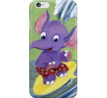 Surfing Elephant iPhone Case/Skin