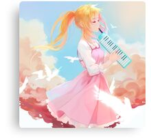 Lover Of Music Canvas Print