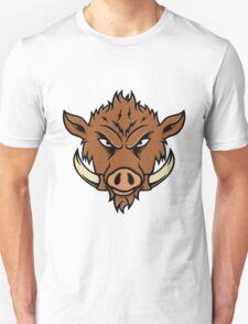 Wild Boar Face Unisex T-Shirt