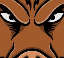 Wild Boar Face Sticker