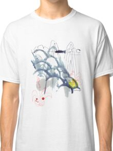 ink painting, Landschaft, Natur, China, Blumen, Chinese landscape, flowers Classic T-Shirt