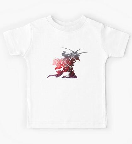 Final Fantasy VI logo universe Kids Tee
