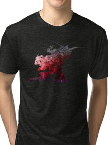 Final Fantasy VI logo universe Tri-blend T-Shirt