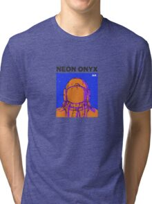 Neon Onyx - Orange Tri-blend T-Shirt