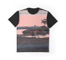 Watching Drift of Fire Graphic T-Shirt