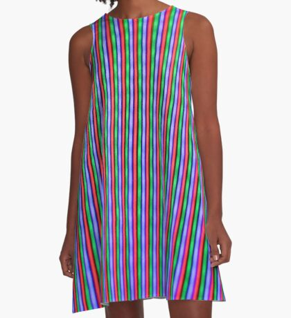 INTERFERENCE A-Line Dress