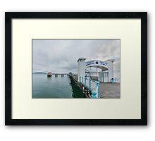 Mumbles Pier 4 Framed Print