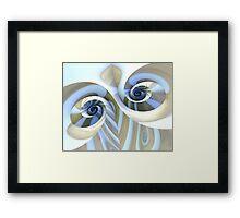 Multi-Swirl Framed Print