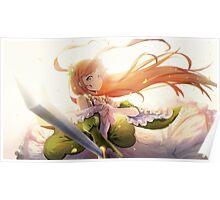 Theresia Van Astrea - Sword Saint Poster