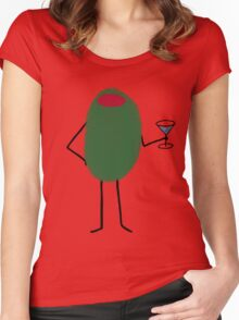 Boozemoji Women's Fitted Scoop T-Shirt