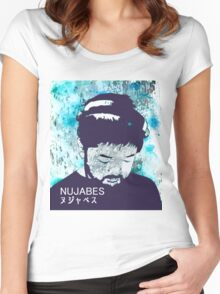 Calm Nujabes  Women's Fitted Scoop T-Shirt