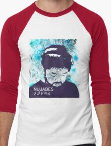 Calm Nujabes  Men's Baseball ¾ T-Shirt