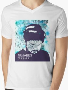 Calm Nujabes  Mens V-Neck T-Shirt