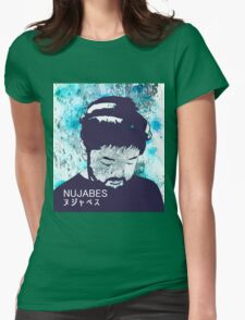 Calm Nujabes  Womens Fitted T-Shirt