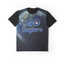 POKEMON GO EXPLORE Graphic T-Shirt