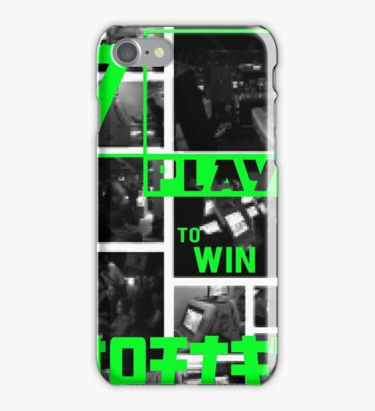 Arcades - Play to Win 2 iPhone Case/Skin