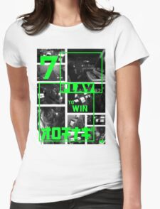 Arcades - Play to Win 2 Womens Fitted T-Shirt
