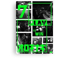 Arcades - Play to Win 2 Canvas Print