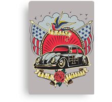 Praise The Lowered Tattoo Beetle Canvas Print