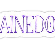 #RainedOut Sticker