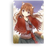 Spice and Wolf - Holo Canvas Print