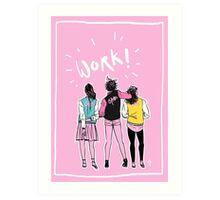Modern Schuyler Sisters Art Print