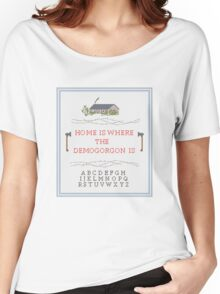 Top Seller - Stranger Things: Home is Where the Demogorgon is  Women's Relaxed Fit T-Shirt