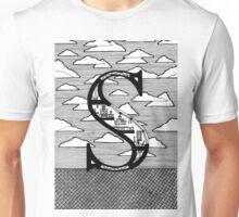 Letter S Architecture Section Alphabet Unisex T-Shirt