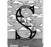 Letter S Architecture Section Alphabet iPad Case/Skin
